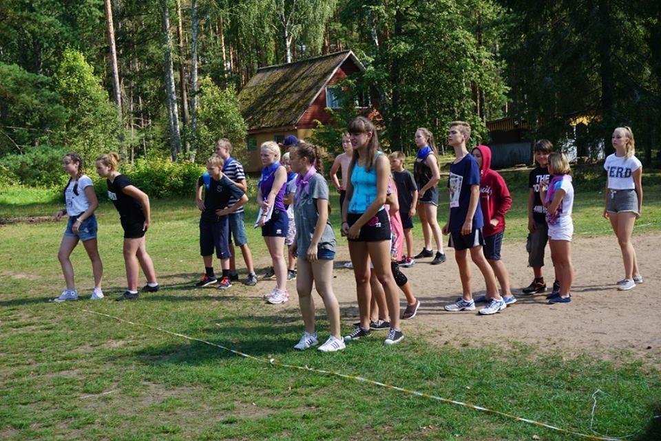 Игры Для Знакомства В Лагере Младший Отряд